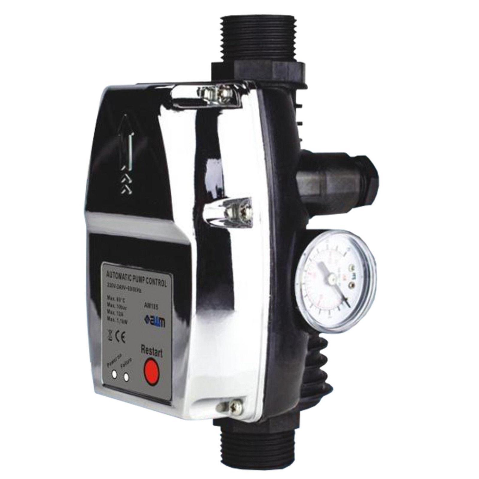 awm pumpensteuerung am 105 pumpen druckschalter hauswasserwerk druckregler detmold. Black Bedroom Furniture Sets. Home Design Ideas