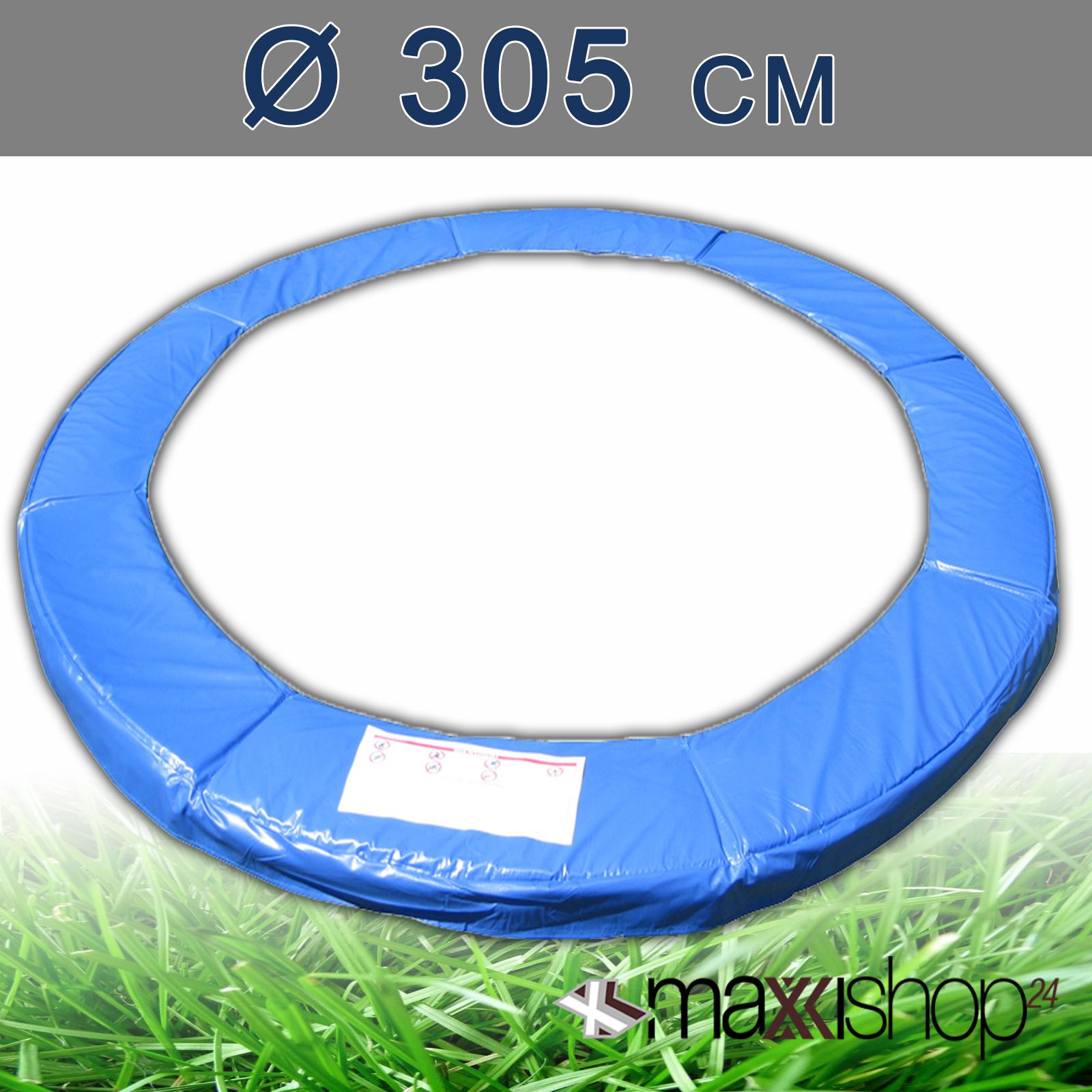 trampolin 305 366 430 cm ersatzteile netz randabdeckung. Black Bedroom Furniture Sets. Home Design Ideas