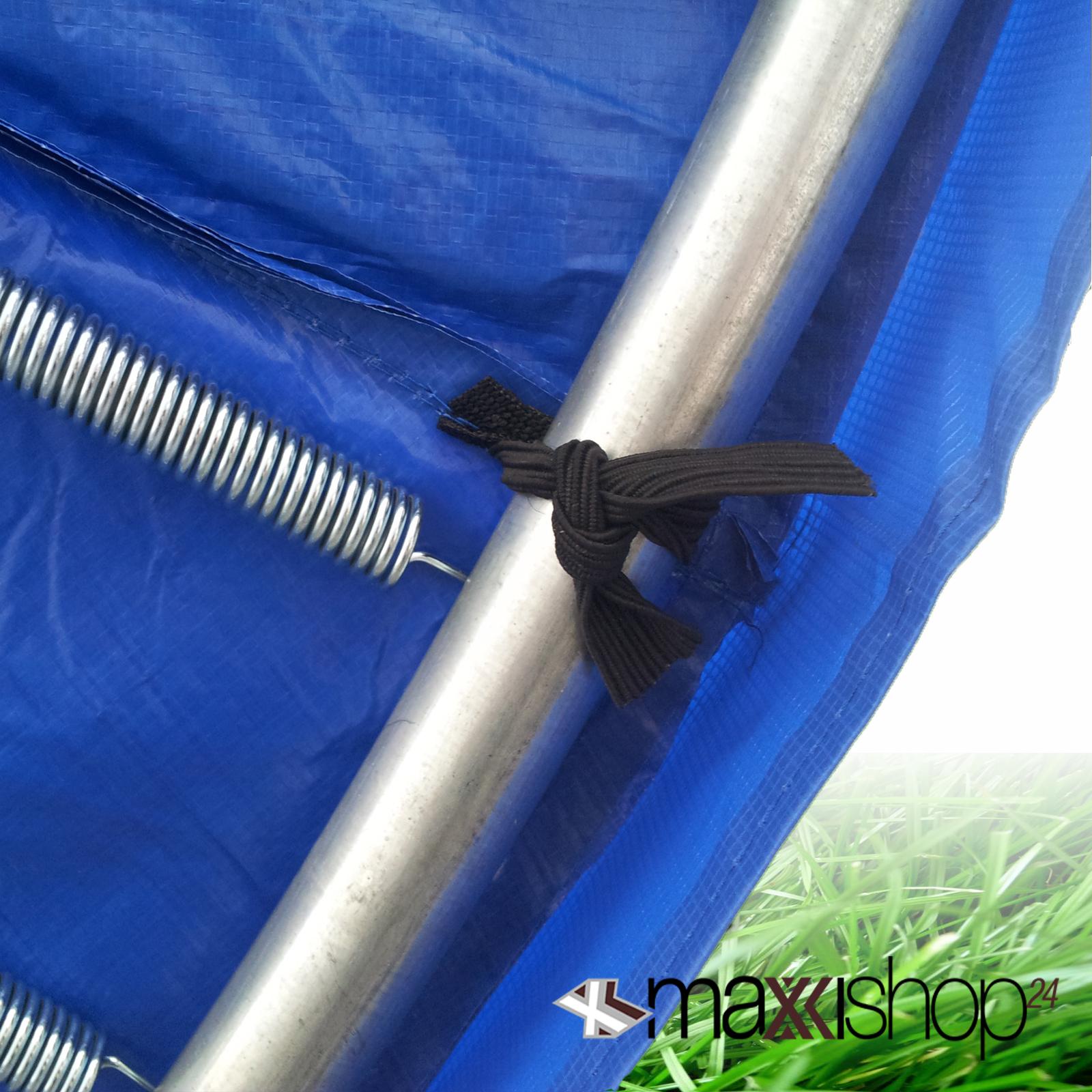 trampolin 305 366 430 cm ersatzteile netz randabdeckung sprungtuch federn leiter. Black Bedroom Furniture Sets. Home Design Ideas